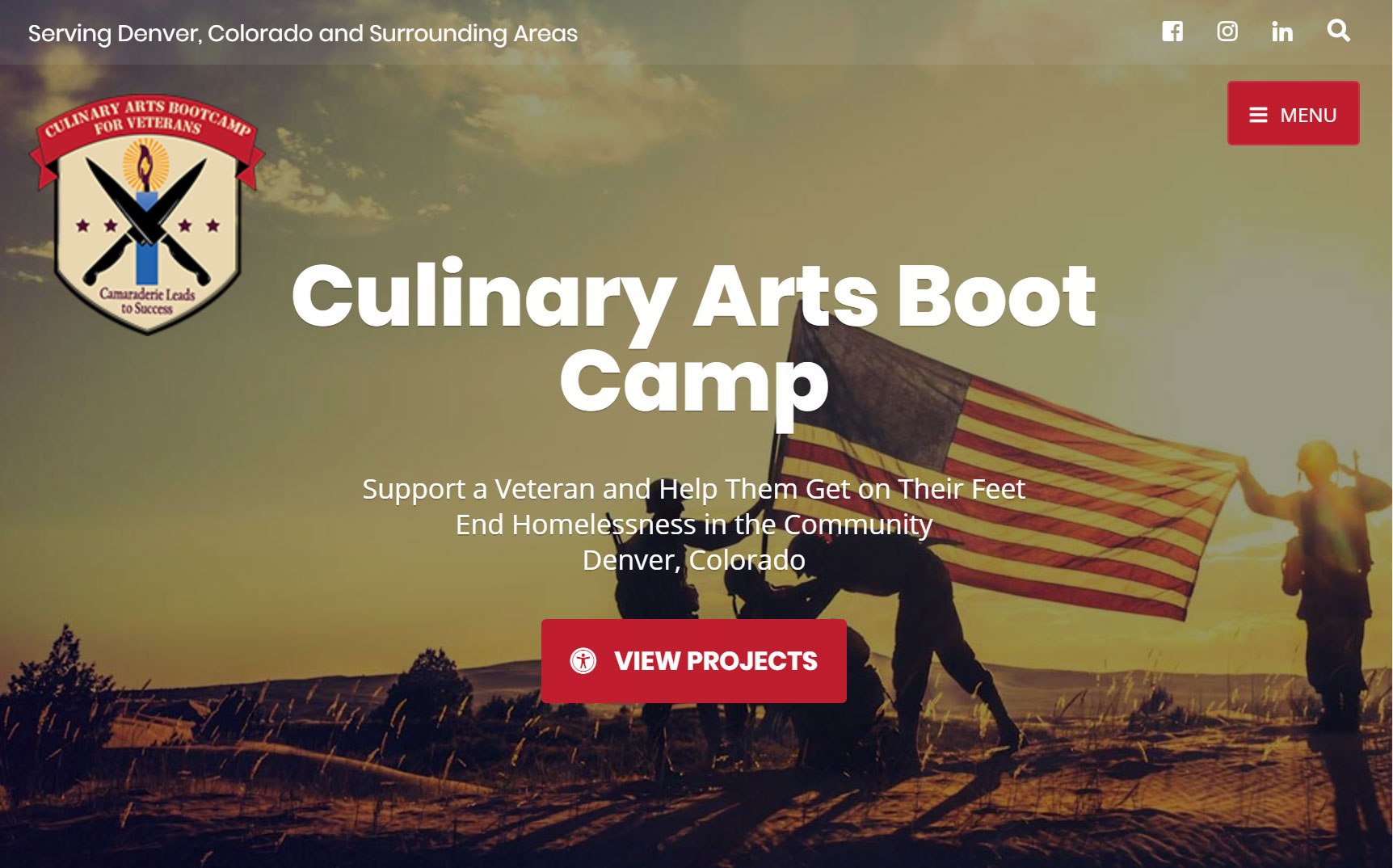 Culinary Arts Boot Camp for Veterans